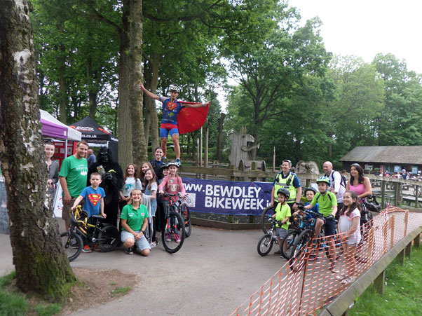 bewdley bike week group photo