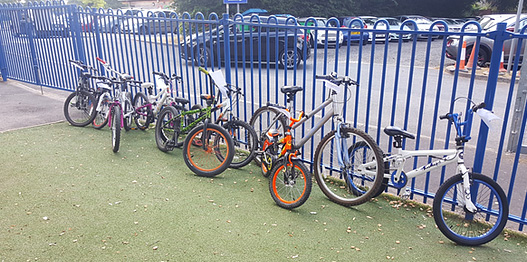 some of the bikes from postcode community trust